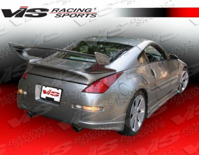 VIS Racing - Nissan 350Z VIS Racing Wings GT Spoiler - 03NS3502DWINGT-003