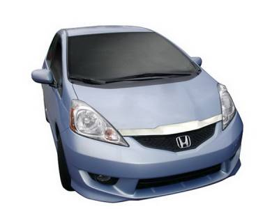 Autovent Shade - Honda Civic Autovent Shade Aeroskin Hood Shield - 620016