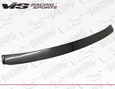 VIS Racing - BMW 3 Series 4DR VIS Racing A-Tech Carbon Fiber Roof Spoiler - 06BME904DATH-023C