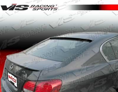 VIS Racing - Lexus GS VIS Racing VIP Roof Spoiler - 06LXGS34DVIP-023