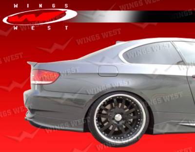 VIS Racing - BMW 3 Series VIS Racing JPC Spoiler - 07BME922DJPC-003P