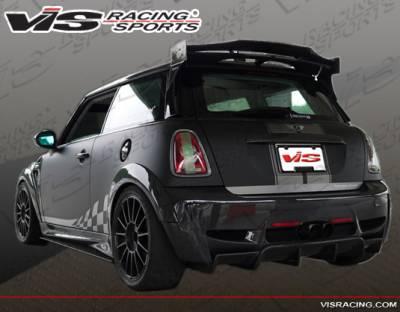 VIS Racing - Mini Cooper VIS Racing Euro Concept Carbon Roof Spoiler - 07BMMCS2DERC-023C