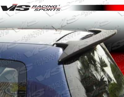 VIS Racing - Honda Fit VIS Racing Fuzion Roof Spoiler - 07HDFIT4DFUZ-023