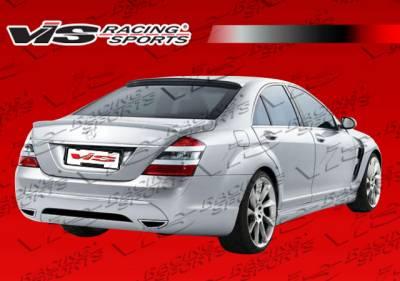 VIS Racing - Mercedes-Benz S Class VIS Racing Laser Roof Spoiler - 07MEW2214DLS-023