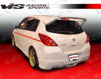VIS Racing - Nissan Versa VIS Racing Octane-2 Roof Spoiler - 07NSVERHBOCT2-023