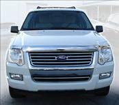 AVS - Ford Explorer AVS Hood Shield - Chrome - 680314