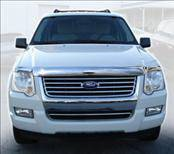AVS - Ford Explorer AVS Hood Shield - Chrome - 680314