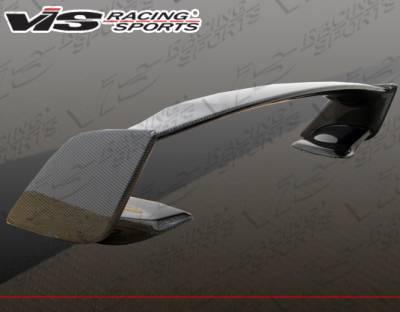 VIS Racing - Subaru WRX VIS Racing STI Carbon Fiber Spoiler - 08SBWRX4DSTI-003C