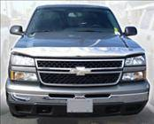 AVS - Chevrolet Silverado AVS Hood Shield - Chrome - 680347