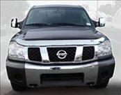 AVS - Nissan Armada AVS Hood Shield - Chrome - 680402