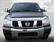 AVS - Nissan Titan AVS Hood Shield - Chrome - 680402