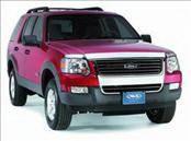 AVS - Toyota 4Runner AVS Hood Shield - Chrome - 680428