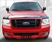 AVS - Nissan Titan AVS Hood Shield - Chrome - 680429