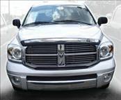 AVS - Dodge Ram AVS Hood Shield - Chrome - 680430