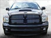 AVS - Dodge Ram AVS Hood Shield - Chrome - 680433