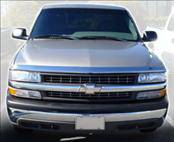 AVS - Chevrolet Silverado AVS Hood Shield - Chrome - 680631