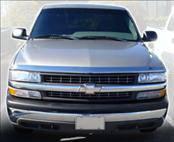 AVS - Chevrolet Tahoe AVS Hood Shield - Chrome - 680631