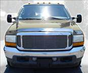 AVS - Ford Excursion AVS Hood Shield - Chrome - 680706