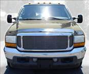 AVS - Ford Superduty AVS Hood Shield - Chrome - 680706