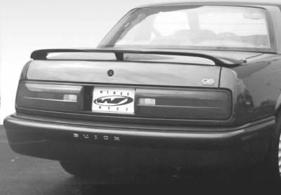 VIS Racing - Buick Regal VIS Racing Custom Style Wing with Light - 49133-1L