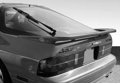 VIS Racing - Mazda RX-7 VIS Racing Large GTU Spoiler without Light - 49965S