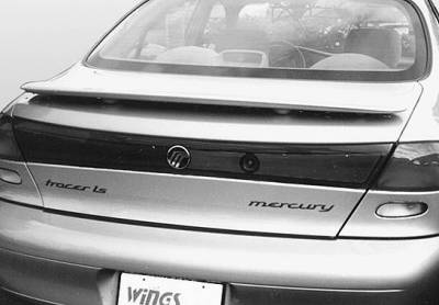 VIS Racing - Mercury Tracer VIS Racing Factory Style Wing with Light - 591030L-3
