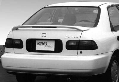 VIS Racing - Honda Civic 2DR & 4DR VIS Racing Factory Style Wing with Light - 591039L