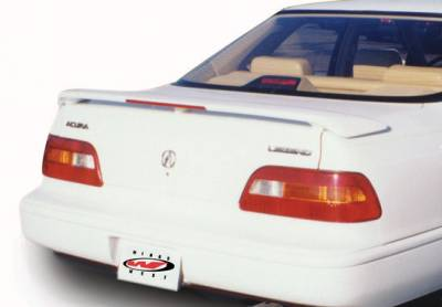 VIS Racing - Acura Legend 4DR VIS Racing Factory Style Wing with Light - 591058L