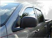 AVS - Dodge Ram AVS Ventvisor Deflector - Chrome - 4PC - 684623