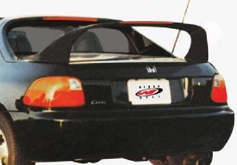 VIS Racing - Honda Del Sol VIS Racing Super Style Wing with Light - 591151-2V26L