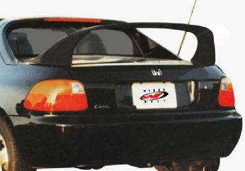 VIS Racing - Honda Del Sol VIS Racing Super Style Wing without Light - 591151-3