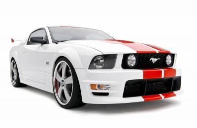 3dCarbon - Ford Mustang 3dCarbon Boy Racer Body Kit - 10PC - 691011