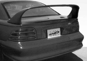 VIS Racing - Ford Mustang VIS Racing Super Style Wing with Light - 591160-2V26L