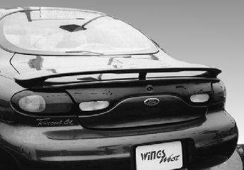 VIS Racing - Ford Taurus VIS Racing Custom Style Wing with Light - 591189-1L