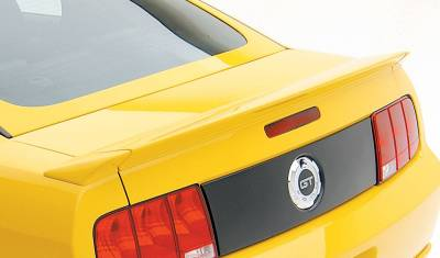 3dCarbon - Ford Mustang 3dCarbon Ducktail Spoiler - 3PC - 691021