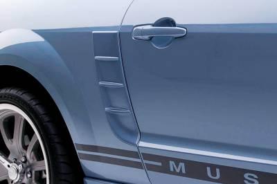 3dCarbon - Ford Mustang 3dCarbon Side Quarter Panel Pony Vent - Pair - 691028