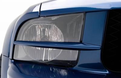 3dCarbon - Ford Mustang 3dCarbon Head Lamp Splitter - Pair - 691029