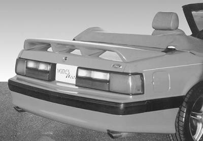 VIS Racing - Ford Mustang VIS Racing Dominator Rear Wing - 591281-2