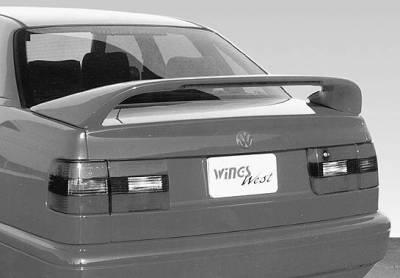 VIS Racing - Volkswagen Passat VIS Racing Thruster Style Wing with Light - 591305-V26L
