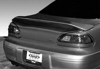 VIS Racing - Pontiac Grand Prix VIS Racing Custom 2 Leg Wing with Light - 591411L