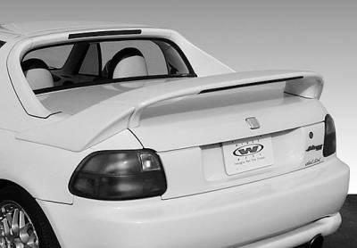 VIS Racing - Honda Del Sol VIS Racing Custom Mid-Wing with Light - 3PC - 591415-V26L
