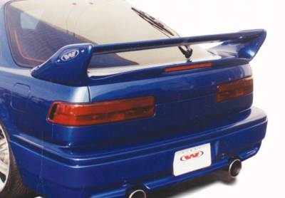 VIS Racing - Acura Integra 2DR VIS Racing Adjustable Commando Style Wing with Light - 591424L
