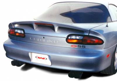 VIS Racing - Chevrolet Camaro VIS Racing Factory SS Style Spoiler with Light - 591425L
