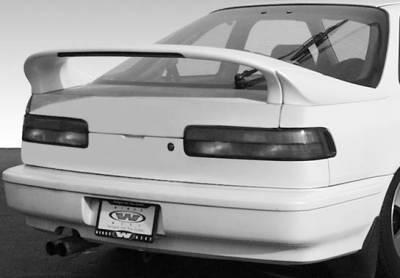 VIS Racing - Acura Integra 2DR VIS Racing Custom Mid-Wing with Light - 3PC - 591429-V26L