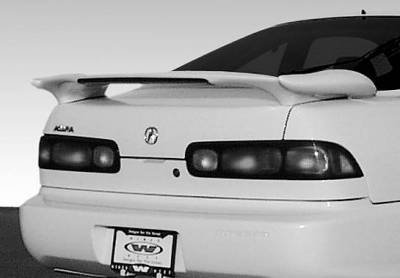 VIS Racing - Acura Integra 2DR VIS Racing Bullet Series Wing with Light - 591509-V26L