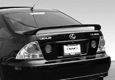 VIS Racing - Lexus IS VIS Racing W-Type 2 Leg Wing with Light - 591523L