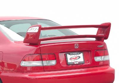 VIS Racing - Honda Civic 2DR VIS Racing Sky-Liner Wing with Light - 591579L