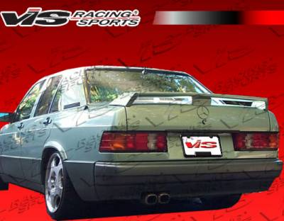 VIS Racing - Mercedes-Benz E Class VIS Racing Euro Tech Spoiler - 86MEW1244DET-003