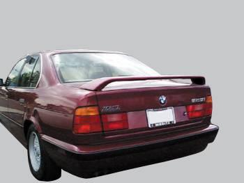VIS Racing - BMW 7 Series VIS Racing Factory Style Spoiler 2 Leg with LED - 88BME324DOE-003