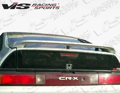VIS Racing - Honda CRX VIS Racing SIR Spoiler - 88HDCRXHBSIR-003